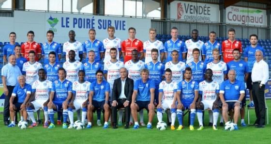 L'équipe de Vendée Poiré sur Vie Football