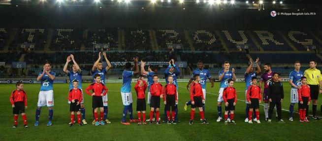 L'équipe du RCSA qui affrontera Amiens