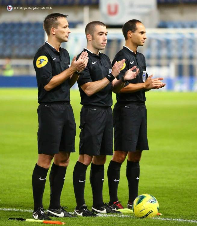 Le trio arbitral qui officiera lors de ce match: Pieric SIMON, Nicolas DZUBANOWSKI et Yoann BENOIT