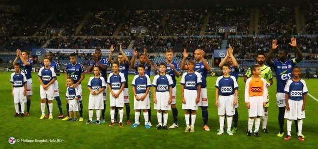 L'équipe qui démarre contre Boulogne: LIENARD - N'DIAYE - BELHAMEUR - AMOFA - MARQUES - DONZELOT - GRIMM - SIKIMIC - SABO - GAUCLIN et SEKA