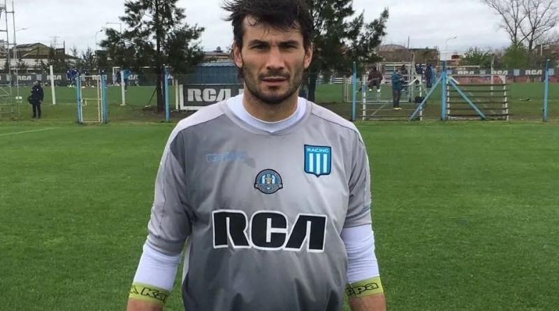 Javi García en Racing.