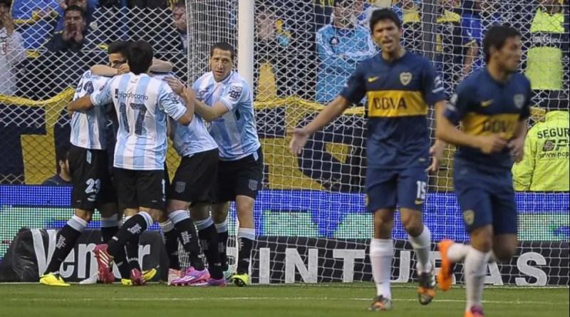 Racing - Boca jugarán el viernes en la Bombonera