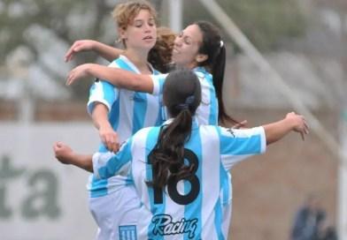 El fútbol femenino de Racing, reconocido
