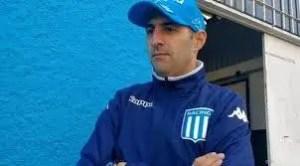 Antonio Spinelli, técnico de Racing.