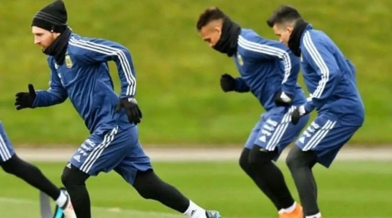 Messi, Lautaro y Acuña