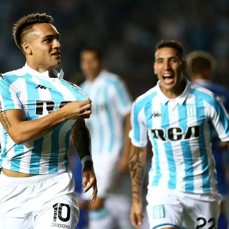 Sigue la racha de Racing, venció 2-1 a Vélez