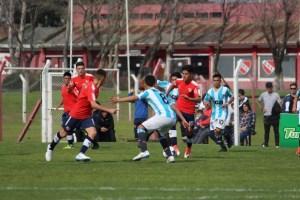 Racing frente a Independiente.