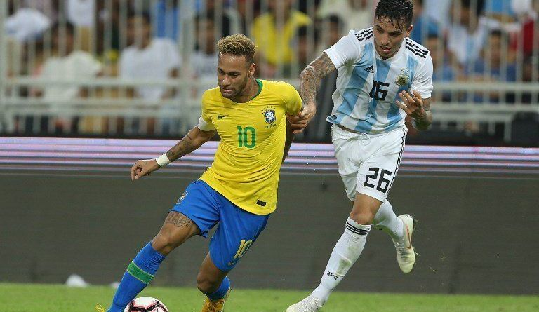 Saravia marcó a Neymar y fue figura