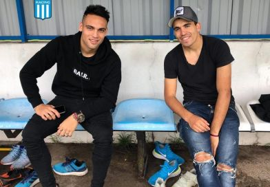 Lautaro y el Huevo, dos visitas de lujo en Racing
