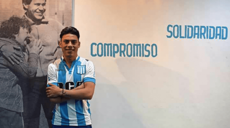 Tucu Rojas, el juvenil que se queda en Racing