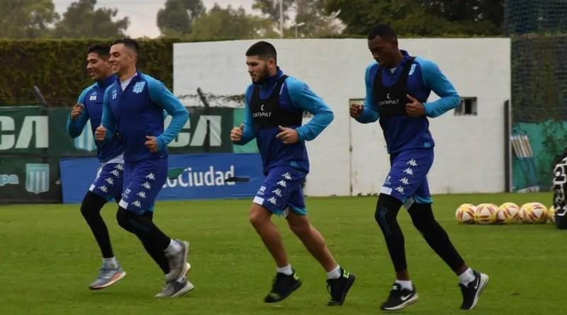 Barbona volvió a trabajar a la par en Racing