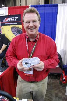 Dan Gildner works for the manufacturer of the steering wheel swiveling device.