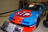 Richard Petty's short-track STP Pontiac Grand Prix was the first stock car that became part of the Hall of Fame collection