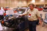 Dimitrie Toth at the 2014 Pontiac Club (www.poci.org) convention. His grandfather and father worked at Pontiac before him casting Super-Duty heads.