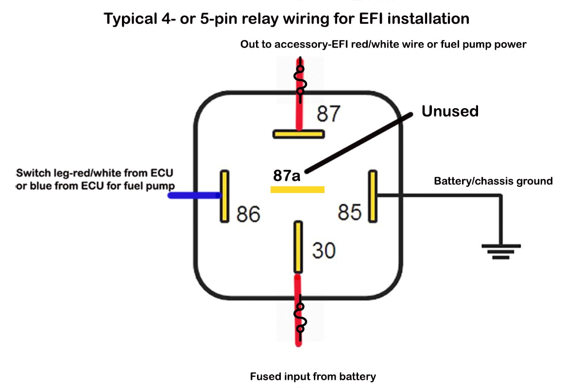 12 Volt 30 Amp Relay Diagram