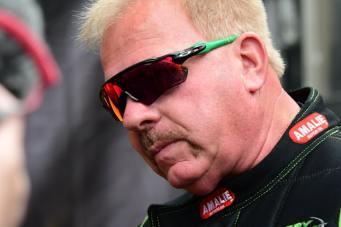 Top Fuel racer Terry McMillen won last year's U.S. Nationals-min