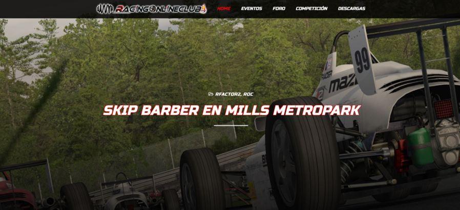 Nueva web Racing Online Club