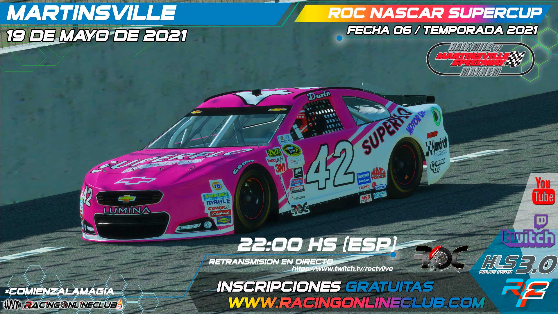 Martinsville NASCAR SuperCup