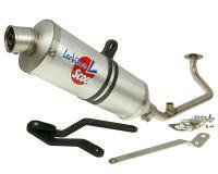exhaust LeoVince hand made aluminum - Honda Zoomer / Ruckus