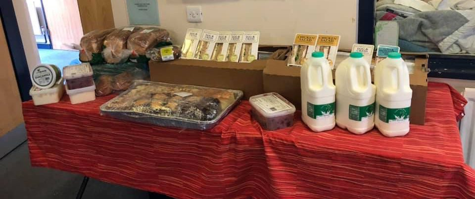 Huntingdon's food donation