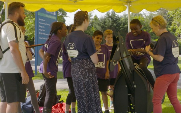 Berkshire School Games - Ascot Racecourse Supports