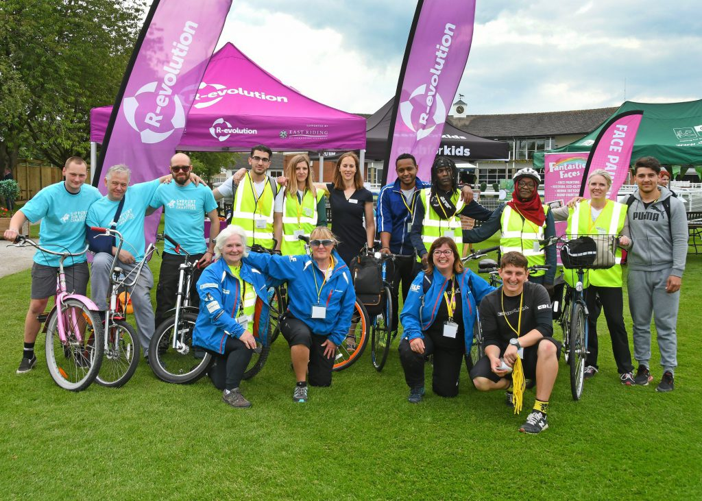 Beverley Charity Racenight - the cycling challenge