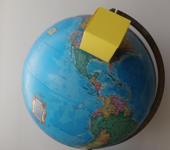 Simulação de como será o tamanho da Nova Jerusalém sobre o território da América do Norte. Imagem fonte: tourofheaven.com/