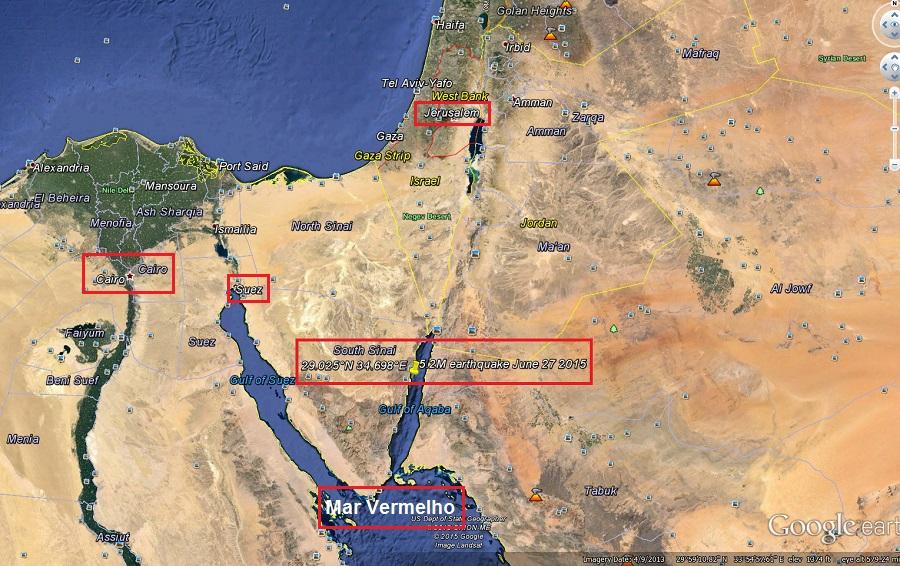 Geografia do local onde ocorreu o êxodo hebreu do Egito em direção à Canaã