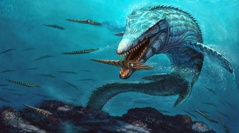 Fóssil de réptil pré-histórico com restos de tecidos macios é achado na Colômbia