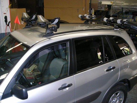 toyota rav4 kayak rack toyota rav 4