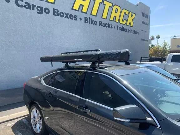 chevrolet impala 4dr rack installation