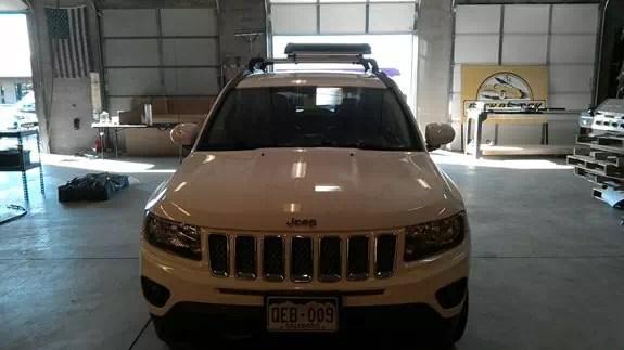 jeep compass rack installation photos