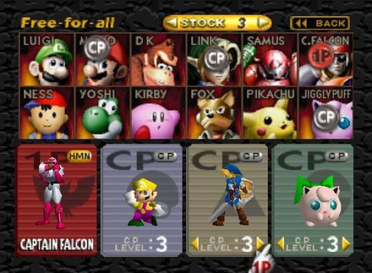 The Games That Defined the Nintendo 64  N64    RetroGaming with     Super Smash Bros  Screenshot