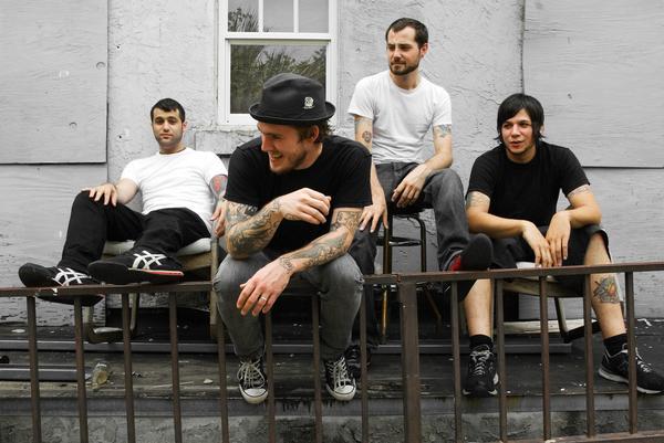 Punk-Rockers The Gaslight Anthem Top the List