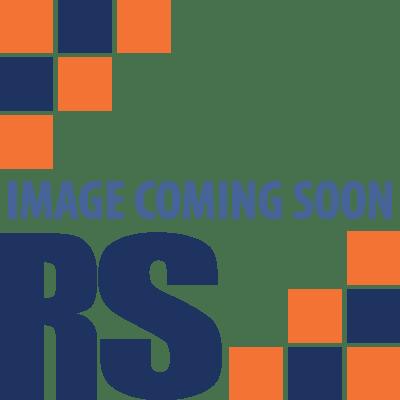 2 x table d appoint industrielle en treillis metallique et 1 x meuble tv cube de rangement avec pieds en epingle a cheveux effet chene et