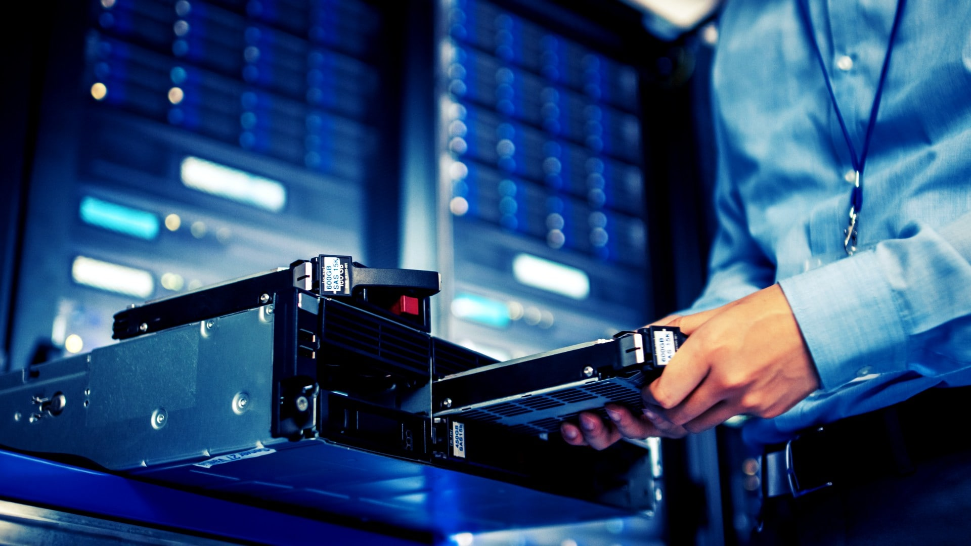 how to rack a server step by step