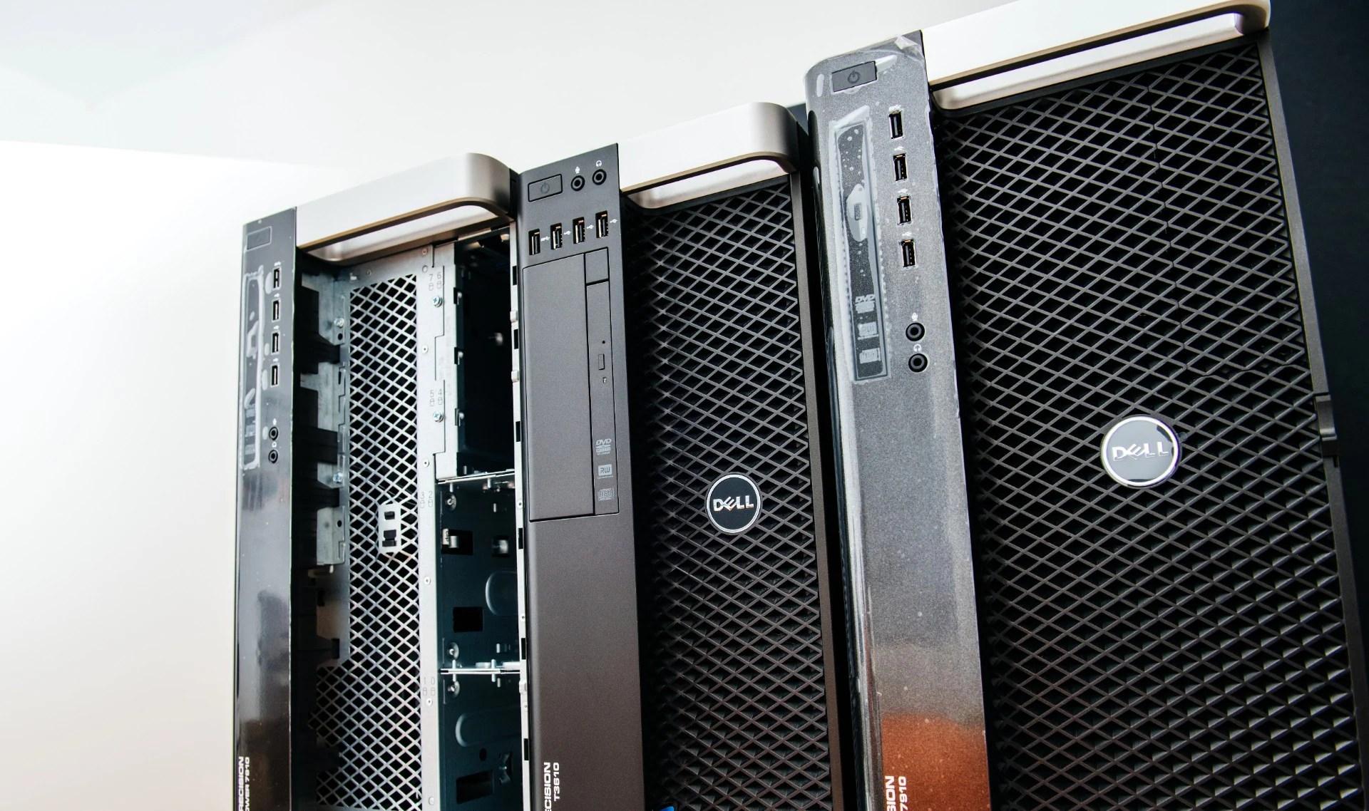 a tower server into a server rack