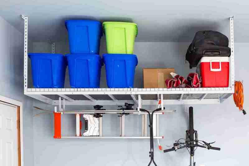 free install storage rack