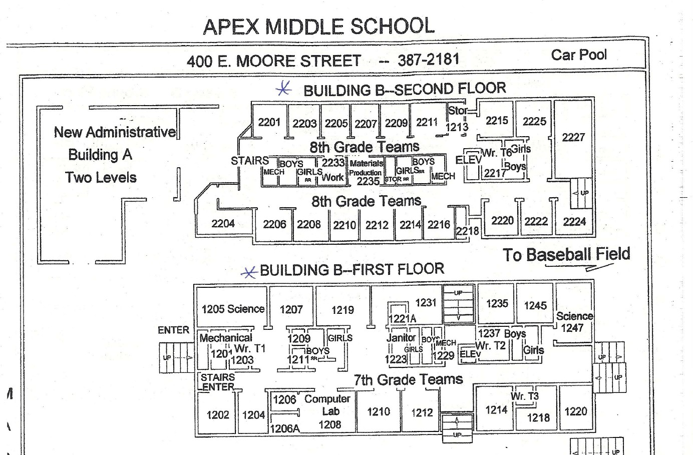 Classroom Map Raleigh Academy Of Chinese Language