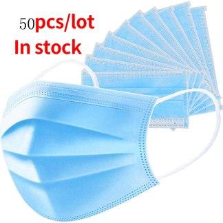 Χειρουργική μάσκα 50 τεμαχίων