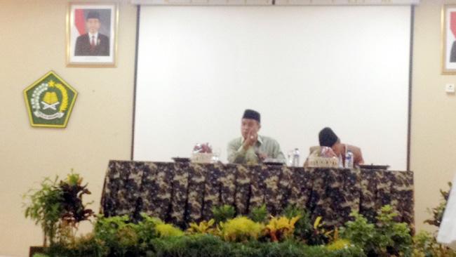 Acara pembinaan pegawai IAIN SMH Banten