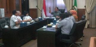 Pertemuan tertutup Gubernur Banten Rano Karno dengan Kementerian Perhubungan