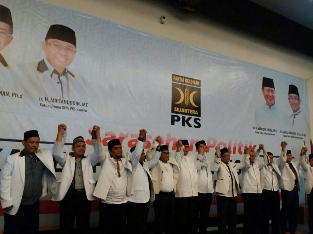 Deklarasi PKS-WH-Andika