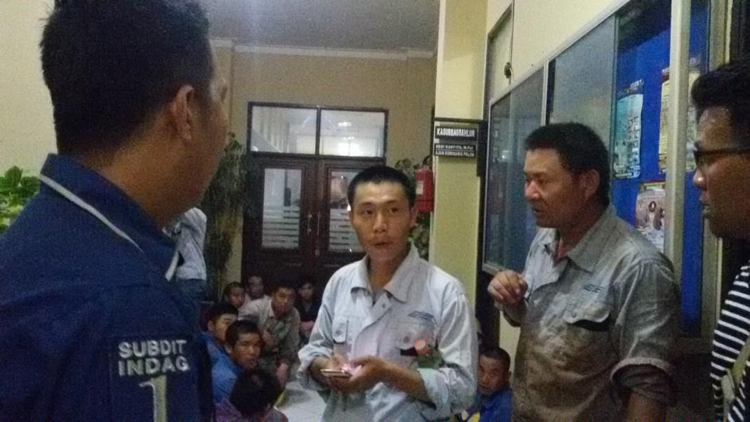 TKA diamankan Polda Banten