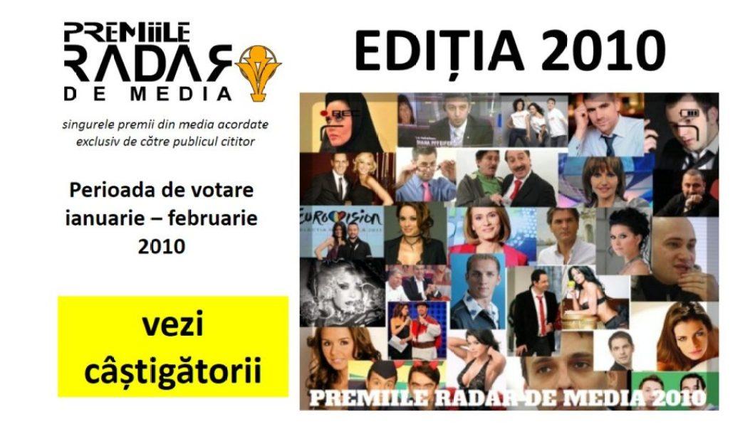 PREMIILE RADAR DE MEDIA 2010