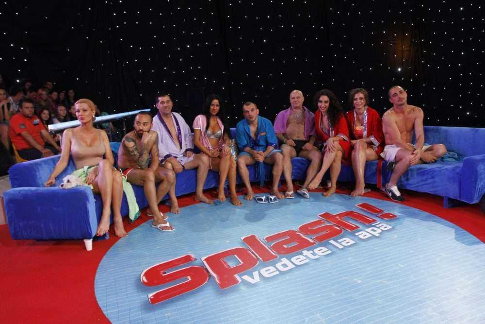 splash vedete la apa antena 1 4 Finala show ului Splash! Vedete la apa, lider de audienta pe toate segmentele de public!