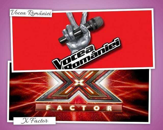 Vocea Romaniei vs. X Factor