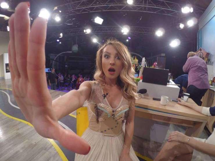 Flavia selfie