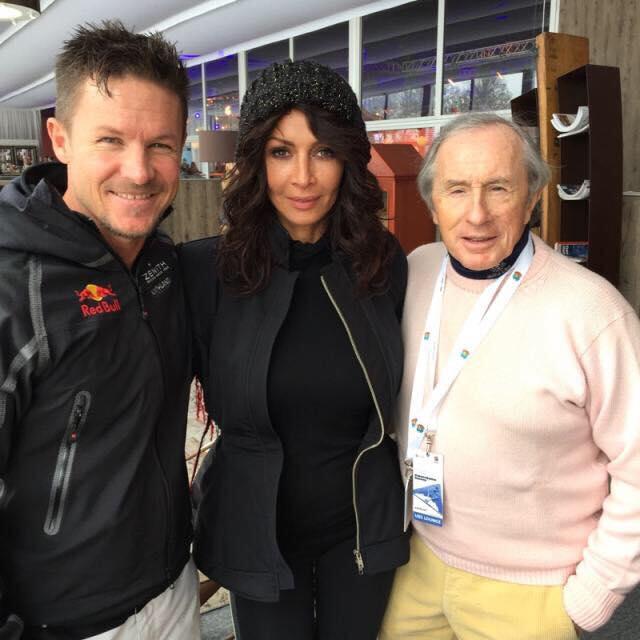 Mihaela, Felix si Sir Jackie Stewart