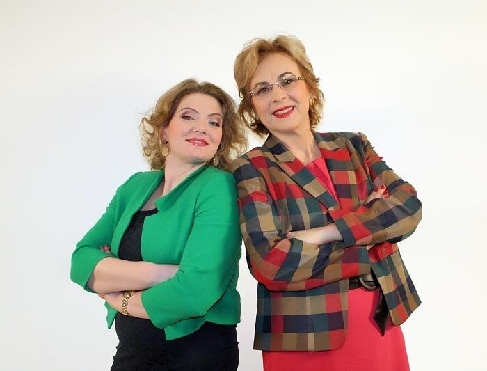Alexandra Bajanaru si Adriana Radu (Curat Murdar - Prima TV)